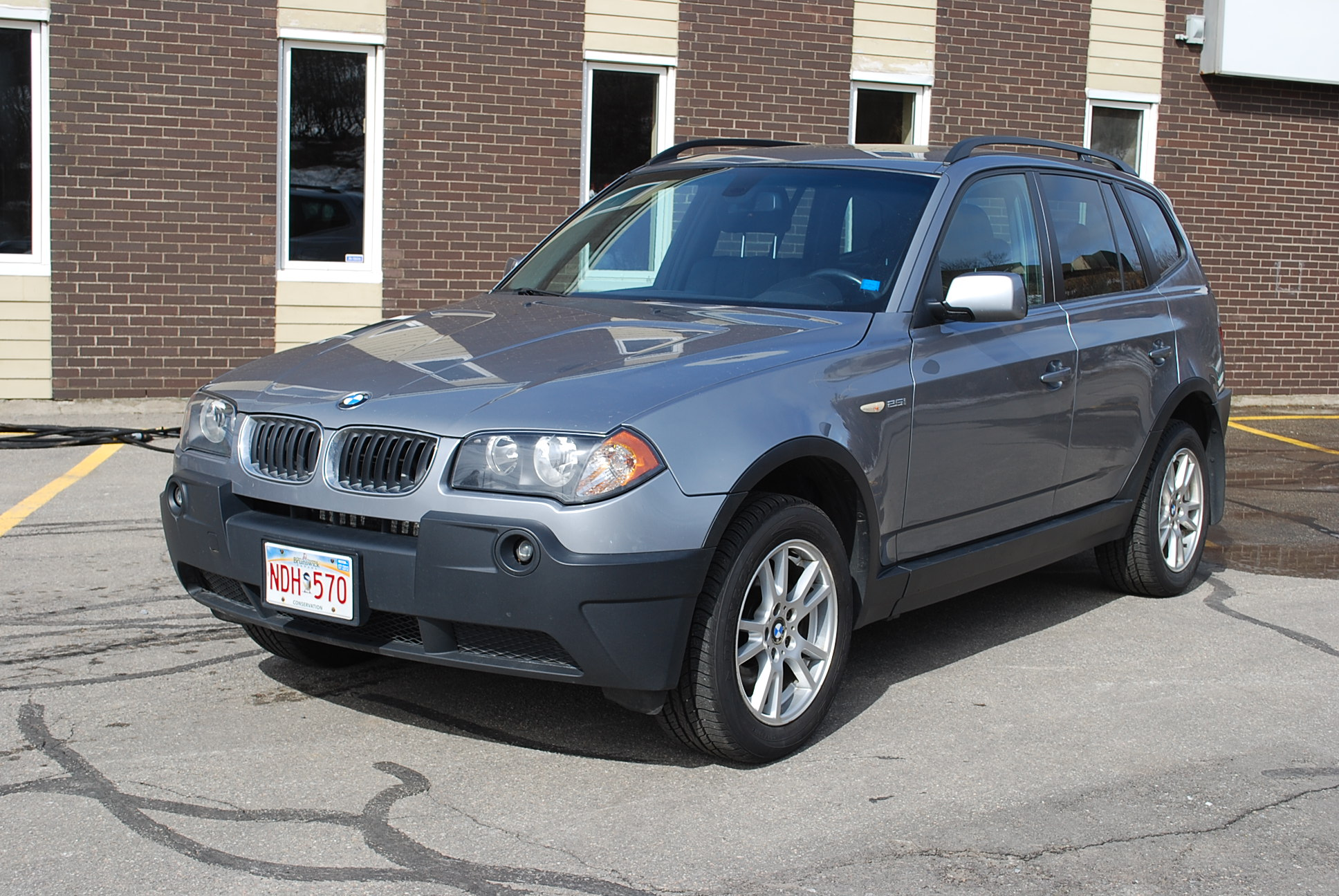 used 2005 bmw x3 2 5 manual for sale in saint john nb. Black Bedroom Furniture Sets. Home Design Ideas